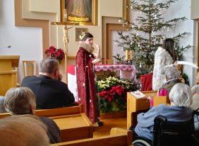 Jasełka w przytulisku św. Brata Alberta