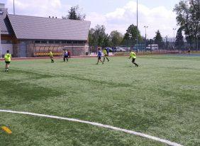 Awans do finałów wojewódzkich drużyny chłopców w piłce nożnej.