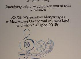 Międzyszkolny Konkurs Piosenki Świątecznej Obcojęzycznej