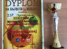 """III miejsce w Igrzyskach Młodzieży Szkolnej Ośrodka Sportowego """"PIENINY"""""""